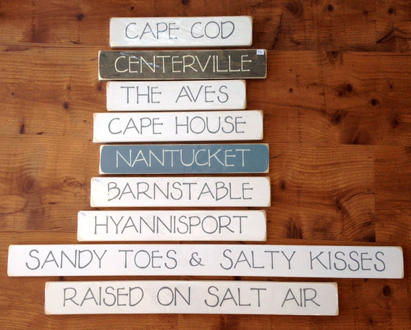 Seasouled :: Hand Painted Signs