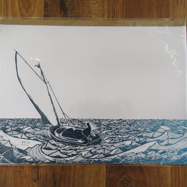 Solo Sail {Limited Edition Print}