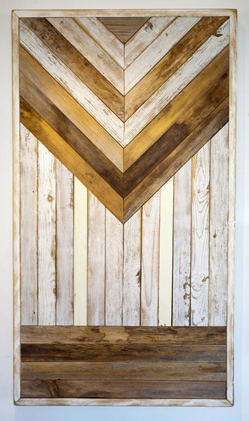 Reclaimed Wood Wall Hanging I