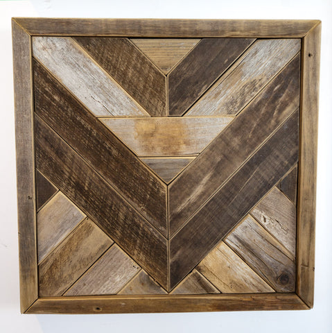 Reclaimed Wood Wall Hanging III