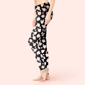 Abstract Impression Leggings