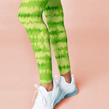 Load image into Gallery viewer, Green Marble Leggings