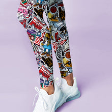 Load image into Gallery viewer, Graffiti Art Leggings
