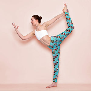 Saxe Skull Leggings