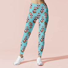 Load image into Gallery viewer, Saxe Skull Leggings