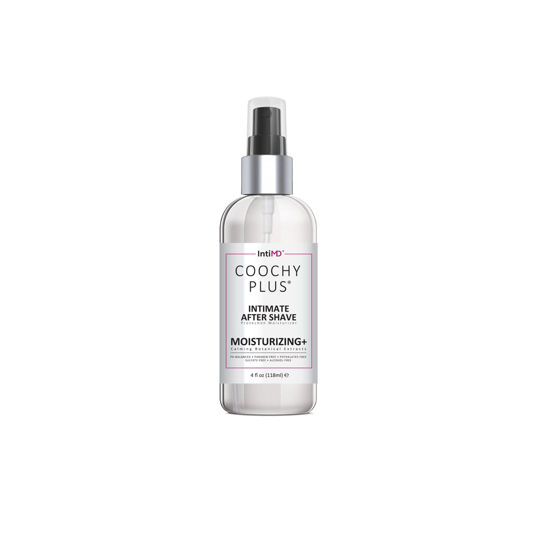 COOCHY Intimate After Shave Protection Moisturizer Plus - Antibacterial & Antioxidant Formula 4 Oz. - IntiMD