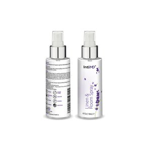 IntiMD Linen & Room Spray Lavender Scent for any Fabric, Room and Space, Alcohol Free, 4 Oz. - IntiMD