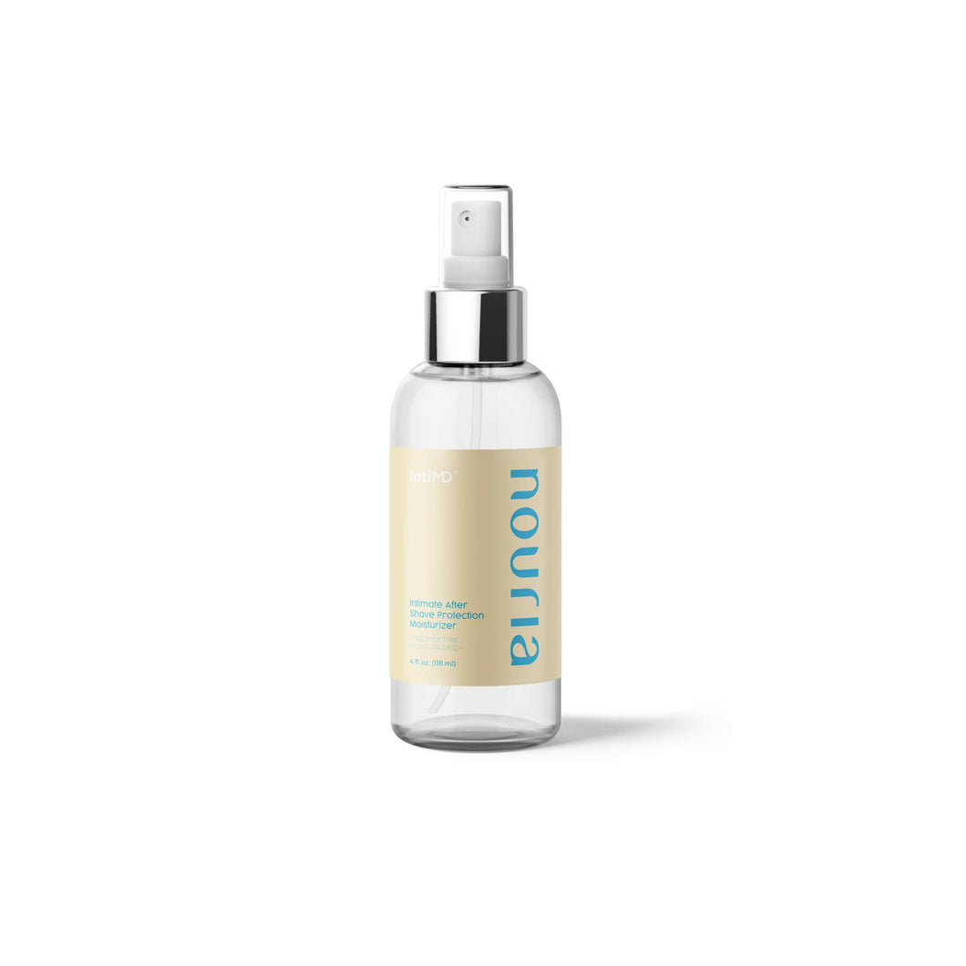 NOURIA Intimate After Shave Protection Moisturizer By Coochy Plus - FRAGRANCE FREE: Delicate MOISTURIZING PLUS Soothing Mist
