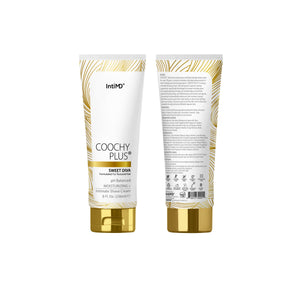 Coochy Plus Intimate Shaving Cream SWEET DIVA For Afro Natural Texture Hair With HydroLock & MOISTURIZING+ Formula 8 Oz. - IntiMD