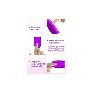 IntiMD VIBIO AIR Ultra Compact Personal Clitoral Massager