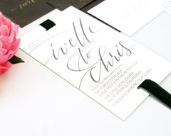 Ivette & Chris Wedding Invitation