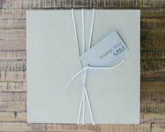 Housewarming Celebration Gift Box with Thank You Tag