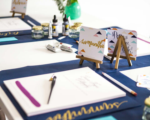 Laura Hooper <br/>Calligraphy Workshop