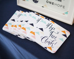 Laura Hooper's Calligraphy Workshop Coasters