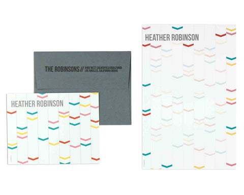 Archetto Notecard & Notepad Set
