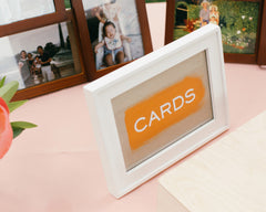 Fresh & Colorful Lombardi House Wedding Card Signs