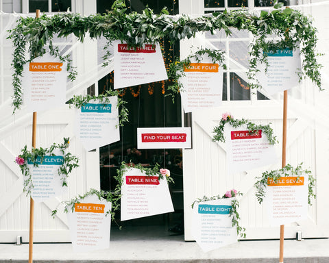 Fresh & Colorful <br/>Lombardi House Wedding