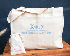 New Orleans Art Deco Wedding Weekend Tote Bag