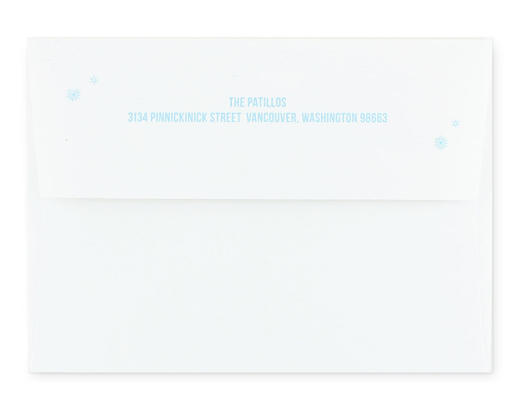 Freddo Envelope with Return Address