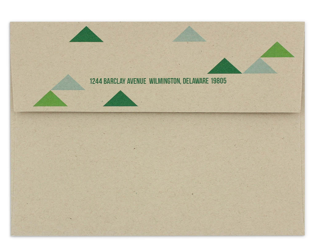 Holimetrica Envelope with Return Address