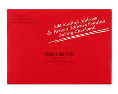 Luminoso Envelope with Return Address Printing