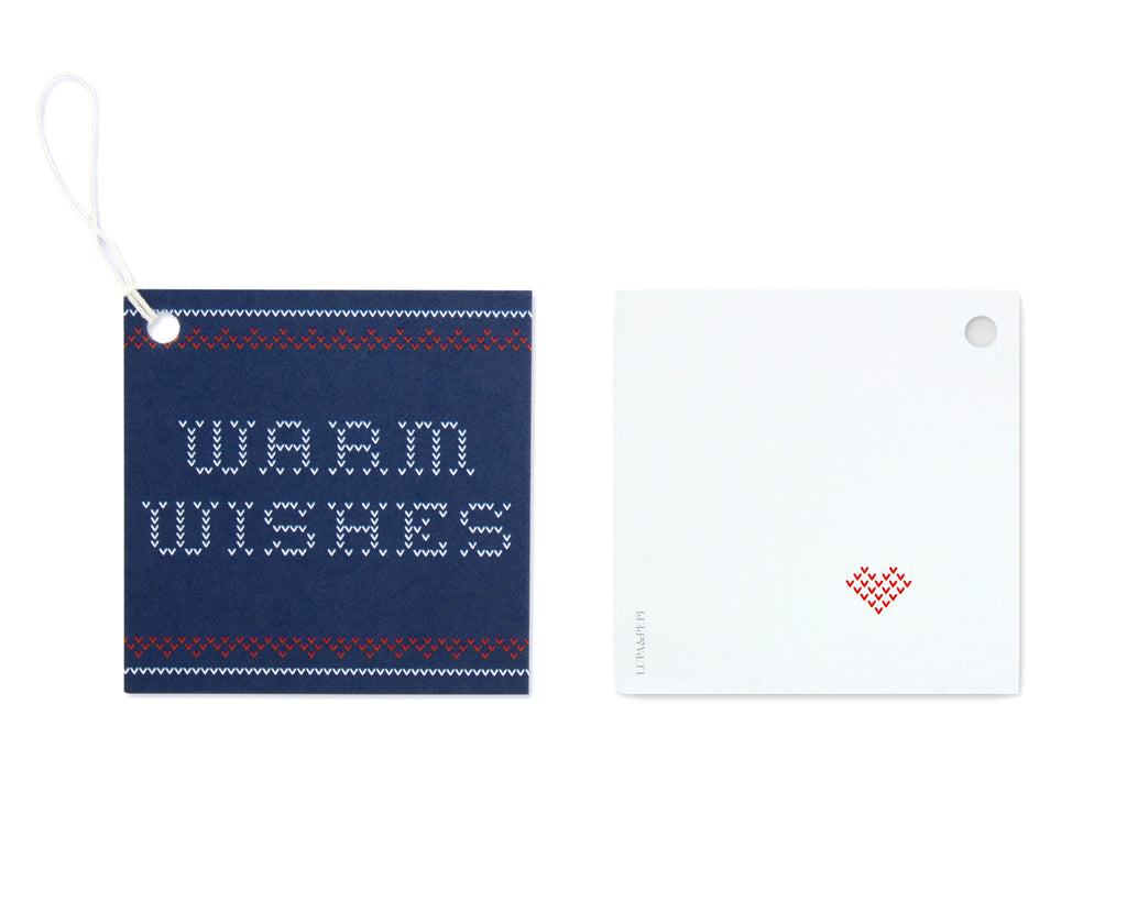 Maglione Gift Tag Front and Back