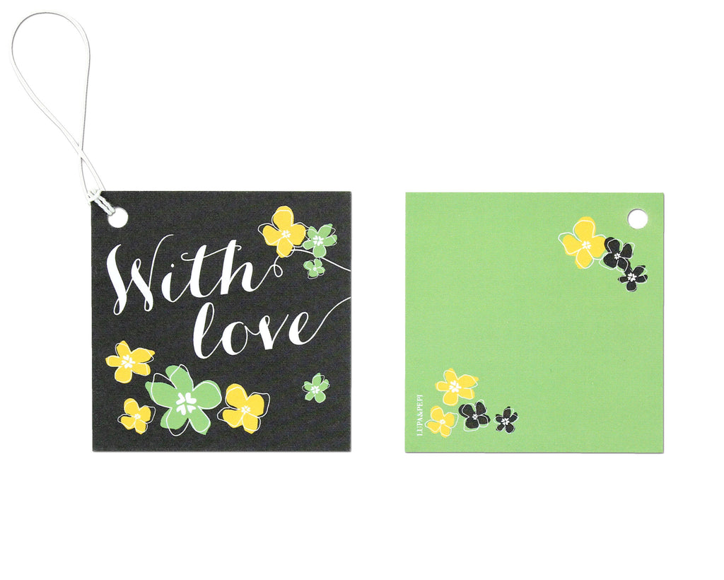 Petalo Gift Tag Front and Back