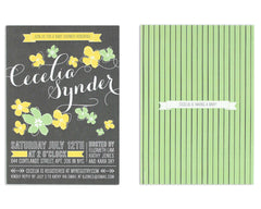 Petalo Invitation Front and Back