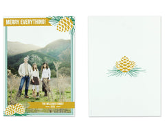 Pigna Holiday Card Front and Back