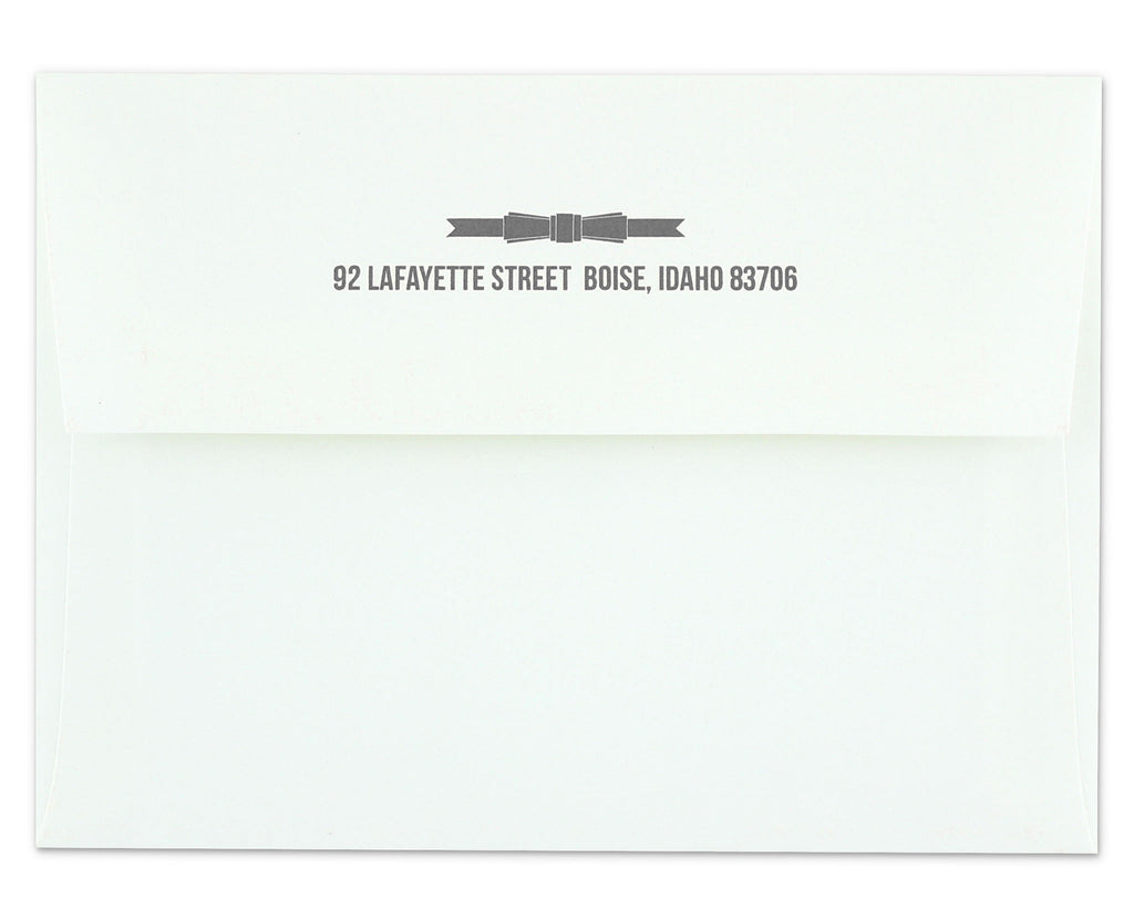 Regalo Envelope with Return Address