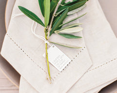 Elegant Ranch and Vineyard Wedding Tag