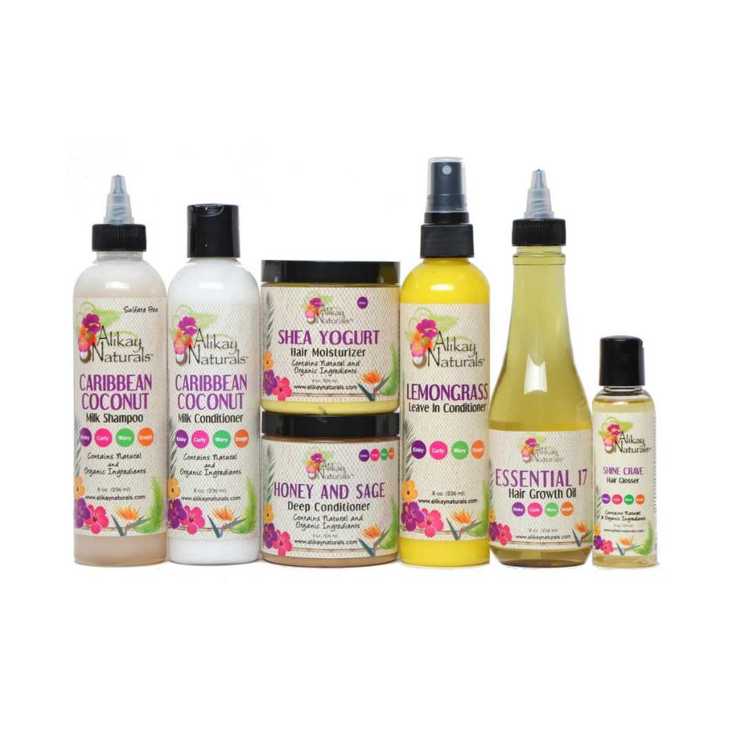 Alikay naturals Healthy Hair Regimen Collection