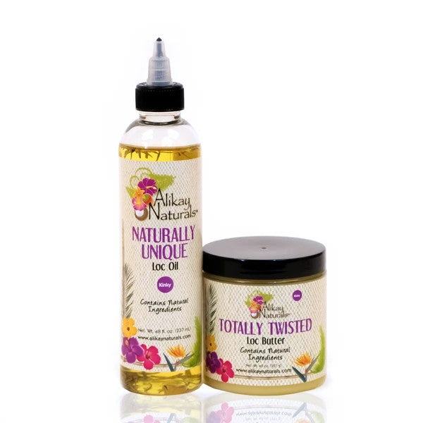 Alikay naturals Loc oil and butter