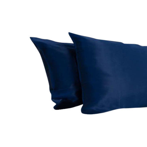 Silk Pillowcase - Soie Silk Navy