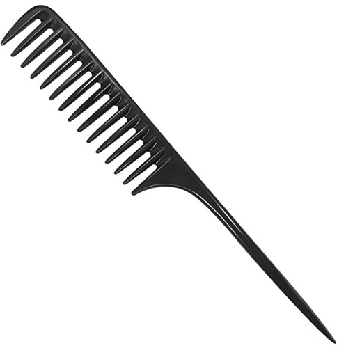Wide Tooth Comb Black