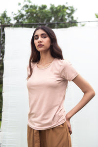 Women's Evergreen Tee - French Pink