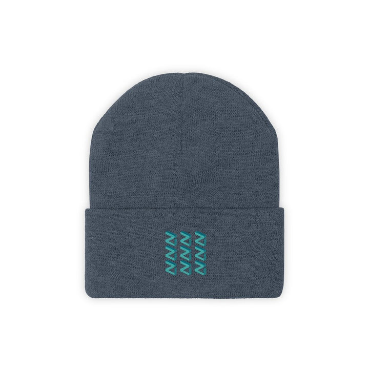 Zilliqa Scattered Logo (ZIL) - Knit Beanie - Mr. Block Crypto Store