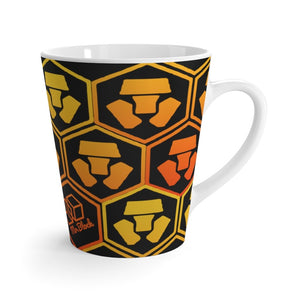 Crypto.com Coin logo (CRO) -Latte mug - Mr. Block Crypto Store