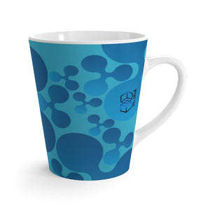 XRP RIPPLE Scatted Logo- Latte mug