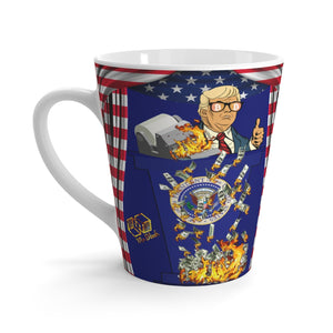 Trump for Bitcoin (Moneyprinter go Brr)- Latte mug