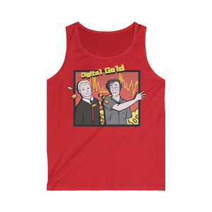 Satoshi & Peter Schiff (Digital Gold) - Men's Tank Top