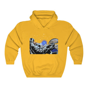 Cardano to the moon, Charles Hoskinson astronaut - Unisex Hooded Sweatshirt