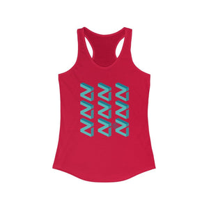 Zilliqa Scattered Logo (ZIL) - Women's Crypto Tank - Mr. Block Crypto Store