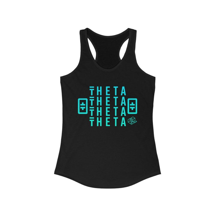 Theta Network Crypto - Women's Crypto Tank - Mr. Block Crypto Store