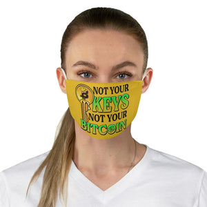 Not Your Keys, Not your Bitcoin - Face Mask