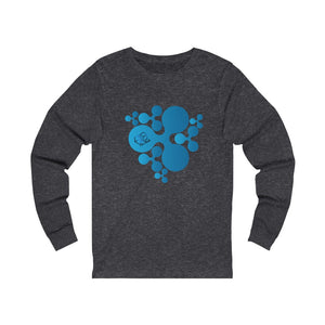 XRP RIPPLE Scatted Logo -Unisex Long Sleeve Tee