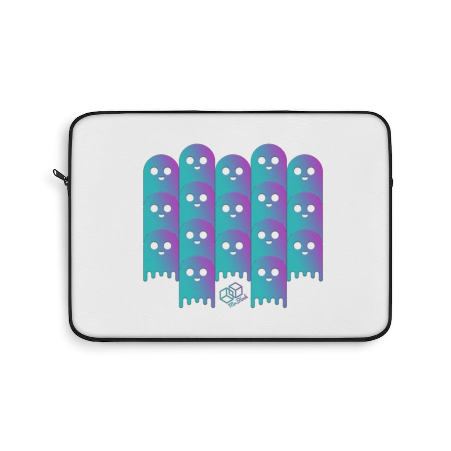 Lend Defi Ghost theme (aave) - Laptop Sleeve