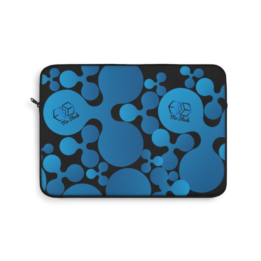 XRP RIPPLE Scatted Logo- Laptop Sleeve