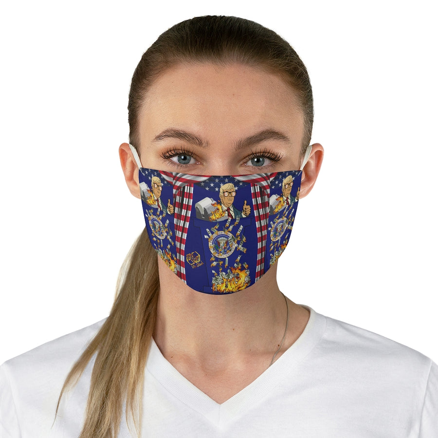 Trump for Bitcoin-  Face Mask