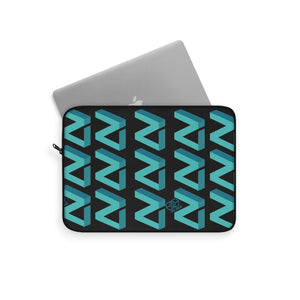 Zilliqa Scattered Logo (ZIL) - Lap top Sleeve - Mr. Block Crypto Store